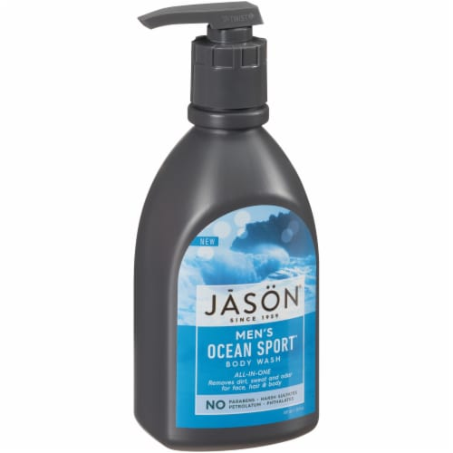 Jason  Men's All-In-One Ocean Sport Body Wash Perspective: front