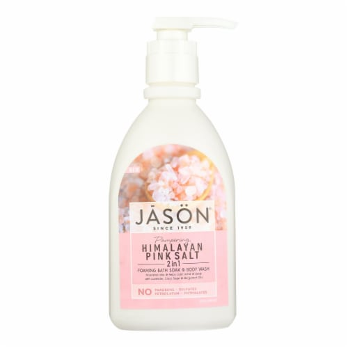 Jason Natural Products - Body Wash Himlyn Salt - 1 Each - 30 FZ Perspective: front