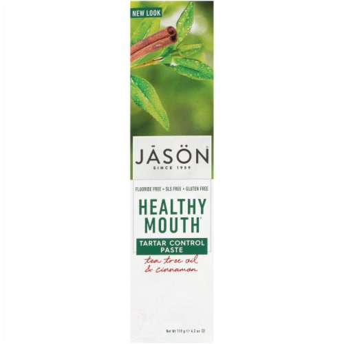 Jason Healthy Mouth Toothpaste Perspective: front