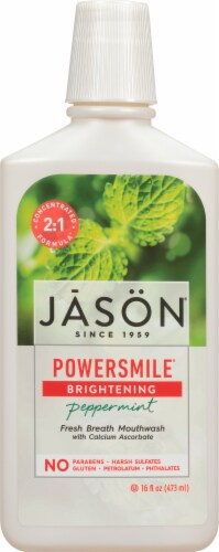 Jason Power Smile Mouthwash Perspective: front