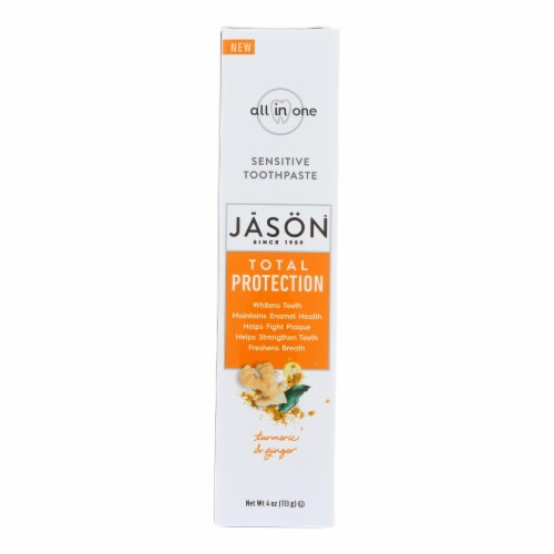 Jason Natural Products - Toothpaste Sensitive - 1 Each - 4 OZ Perspective: front