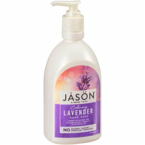 Jason Lavender Satin Soap Perspective: front
