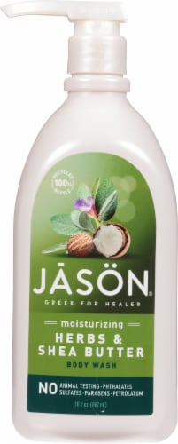 Jason Herbal Moisturizing Herbs & Shea Butter Body Wash Perspective: front