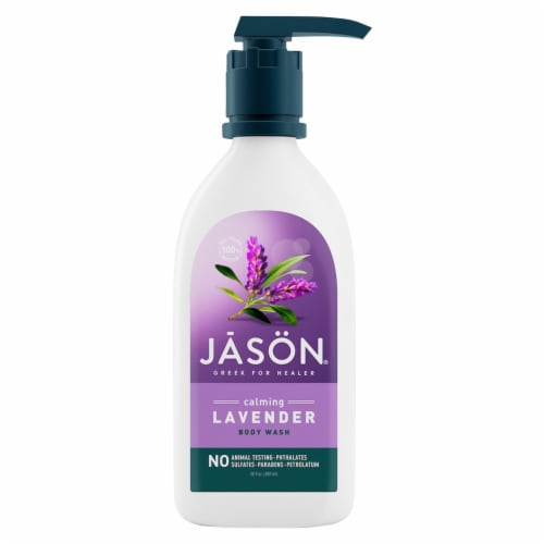 Jason Calming Lavender Body Wash Perspective: front