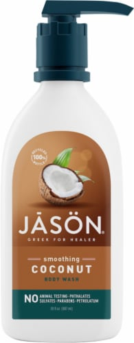 Jason Smoothing Coconut Body Wash Perspective: front