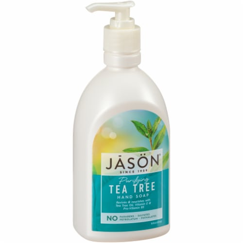 Jason Tea Tree Satin Soap Perspective: front