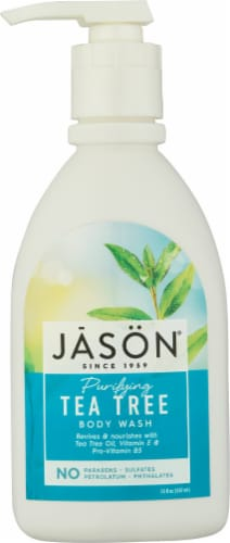 Jason Purifying Tea Tree Body Wash Perspective: front