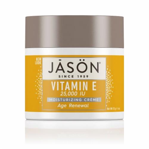 Jason Vitamin E Age Renewal Moisturizing Creme Perspective: front