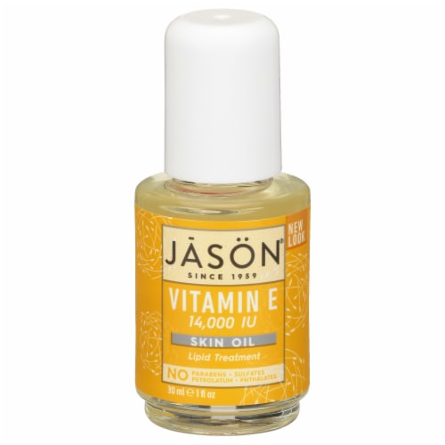 Jason Vitamin E Oil 14000 IU Skin Oil Perspective: front