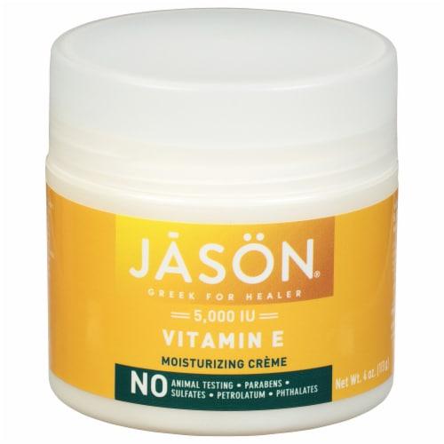 Jason 5000 IU Vitamin E Moisturizer Creme Perspective: front