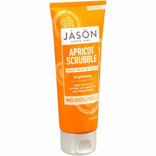 Jason Apricot Scrubble Facial Wash & Scrub Perspective: front
