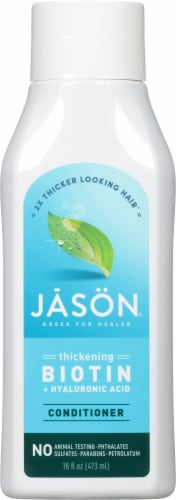 Jason Thicken & Restore Biotin + Hyaluronic Acid Conditioner Perspective: front