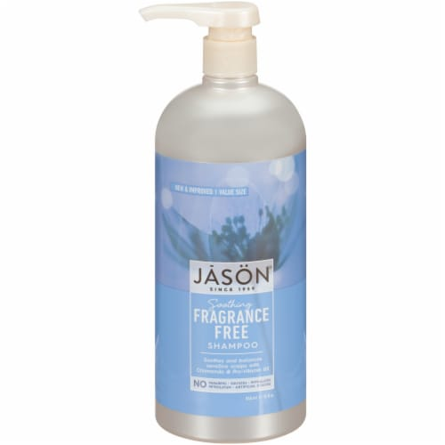 Jason Fragrance-Free Everyday Shampoo Perspective: front