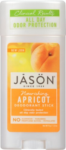 Jason Apricot Deodorant Stick Perspective: front