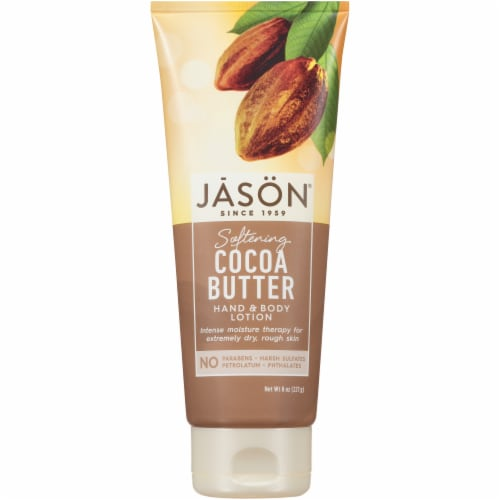Jason Cocoa Butter Hand & Body Lotion Perspective: front