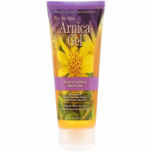 Roberts Research Labs Arnica Gel Perspective: front