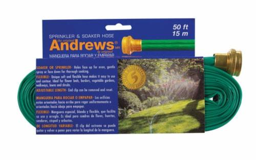 Andrews Sprinkler & Soaker Hose - Green Perspective: front