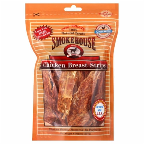 Smokehouse Chicken Breast Strips Perspective: front