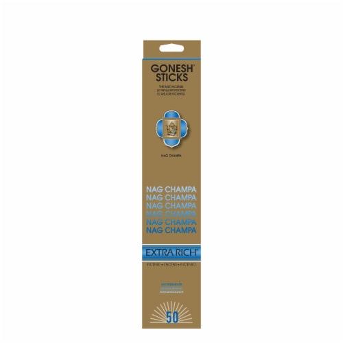 Gonesh® Nag Champa Incense Sticks Perspective: front