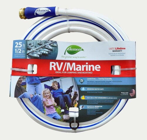 Element RV & Marine 0.5 Inch Hose Perspective: front