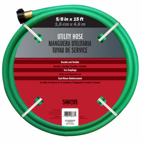 Swan® Utility Green Remnant Hose Perspective: front