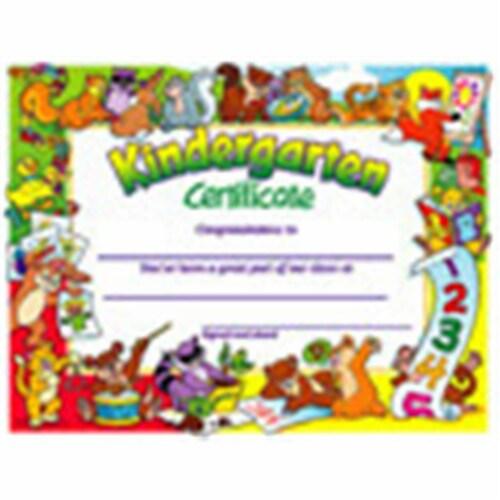 Kindergarten Certificate , 30 ct Perspective: front