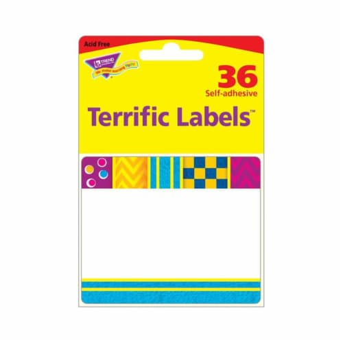 Snazzy Terrific Labels™, 360 Count Perspective: front