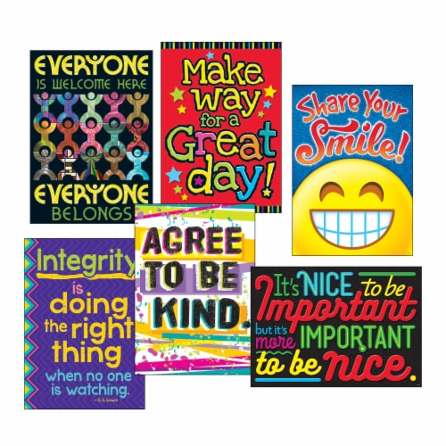 Trend Argus Poster Combo Pack,  Kindness Matters , 13 3/8w X 19h TA67938 Perspective: front