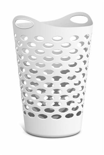 Starplast Flex Hamper - White Perspective: front
