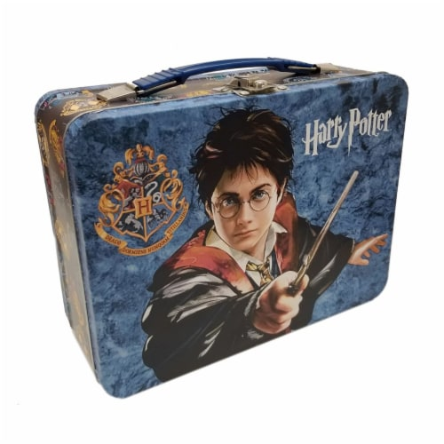 Tin Box Company Harry Potter Houses Tin Lunch Box Perspective: front