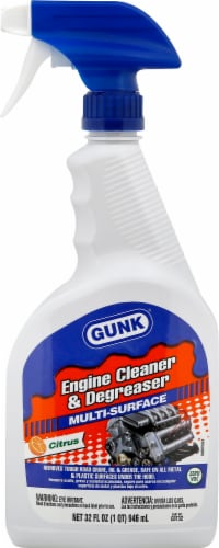 Gunk Multi-Surface Engine Cleaner & Degreaser Perspective: front