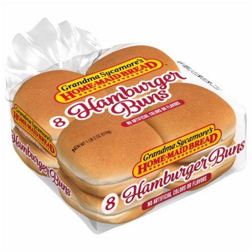 Grandma Sycamore's Hamburger Buns Perspective: front