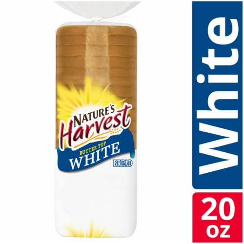 Nature's Harvest Butter Top White Bread Perspective: front