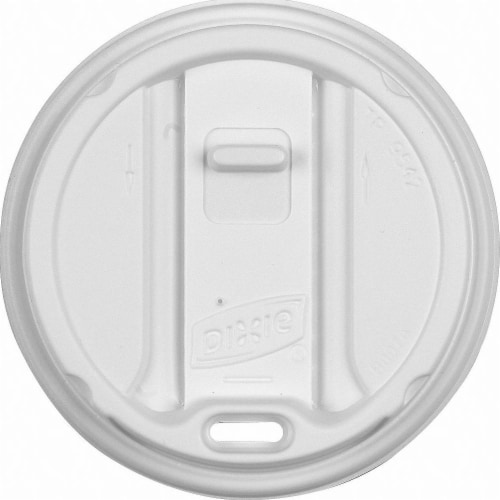 Dixie Hot Cup Lid,Dome,12 to 20 fl. oz.,PK1000 HAWA TP9542 Perspective: front