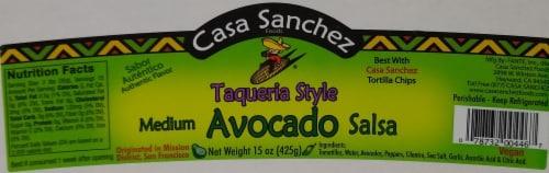 Casa Sanchez Medium Avocado Salsa Perspective: front