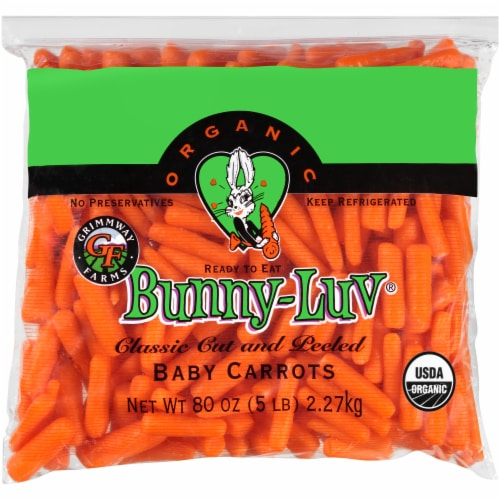 Grimmway Farms Organic Baby Carrots Perspective: front