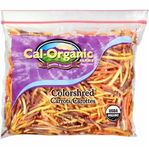 Cal-Organic Colorshred Carrots Perspective: front