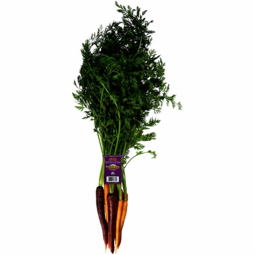 Grimmway Rainbow Organic Carrots Perspective: front
