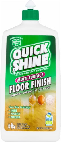 Holloway House Quick Shine Multi-Surface Floor Finish Perspective: front