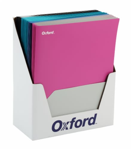 Oxford® Twin Pocket Folder - Assorted Perspective: front