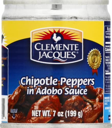 Clemente Jacques Chipotle Peppers in Adobo Sauce Perspective: front
