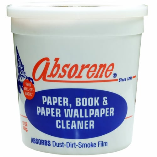 Absorene Paper Book & Paper Wallpaper Cleaner 15oz Perspective: front