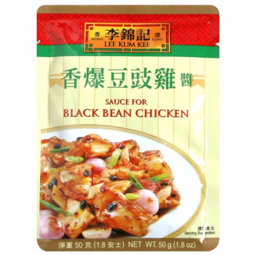 Lee Kum Kee Sauce for Black Bean Chicken Perspective: front