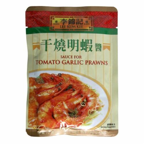 Lee Kum Kee Tomato Garlic Prawn Sauce Perspective: front