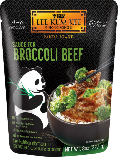 Lee Kum Kee Broccoli Beef Sauce Perspective: front