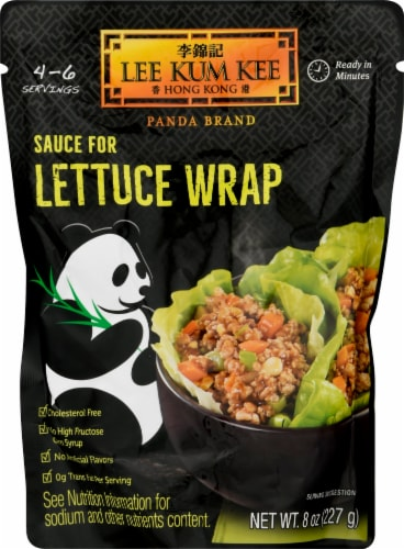 Lee Kum Kee Lettuce Wrap Sauce Perspective: front