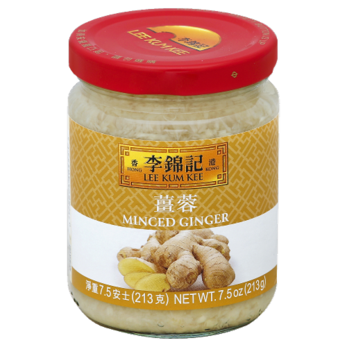 Lee Kum Kee Minced Ginger Perspective: front