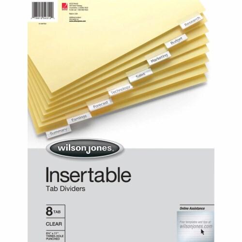 Wilson Jones  Tab Divider 54312 Perspective: front