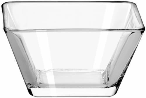 Libbey Tempo Bowl  - Clear Perspective: front