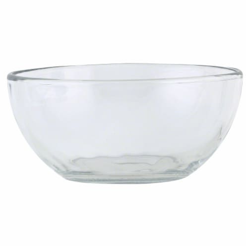 Libbey Crisa Moderno Glass Bowl - Clear Perspective: front